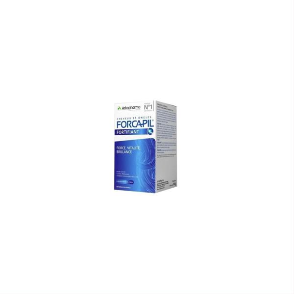CHEVEUX ET ONGLES FORCAPIL FORTIFIANT, 66 g., 180 kapsulių po 366,67 mg paveikslėlis
