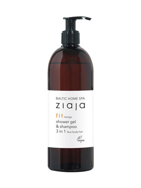 Baltic Home SPA FIT Dušo želė ir šampūnas 3 in 1, 500 ml paveikslėlis