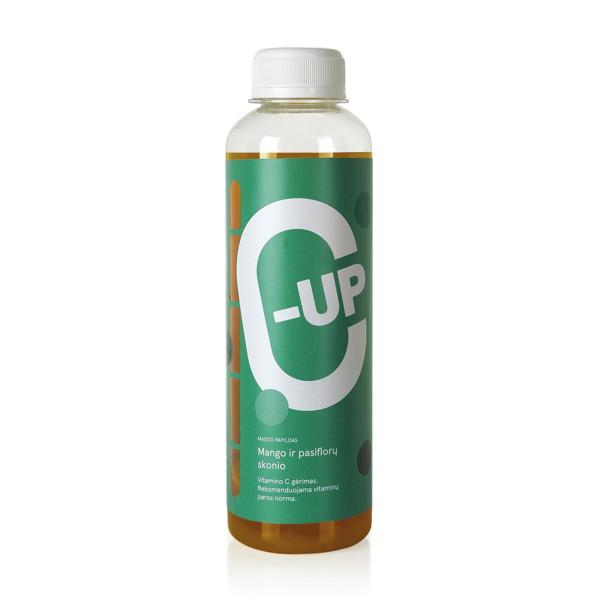 C-UP, vitamino C gėrimas mango ir pasiflorų skonio, 250 ml paveikslėlis
