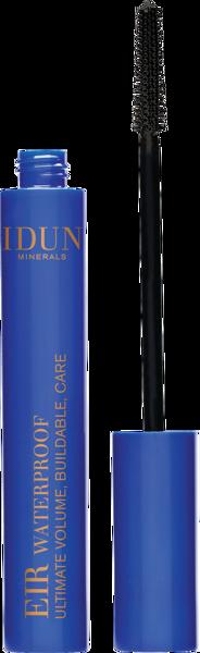 IDUN Minerals vandeniui atsparus išskirtinės apimties suteikiantis blakstienų tušas, juodos spalvos Eir Waterproof Nr. 5006, 8 ml paveikslėlis