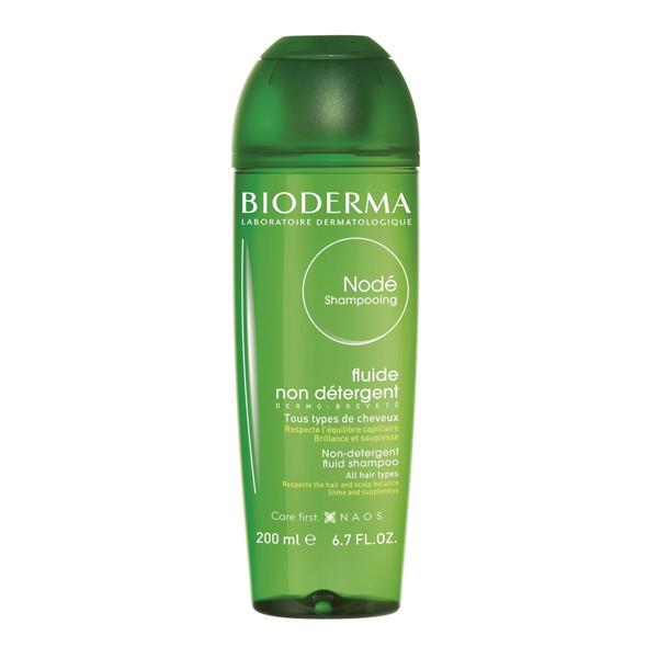 BIODERMA NODE SHAMPOOING FLUID, švelnus šampūnas, kasdienis, be detergentų, 200 ml  paveikslėlis