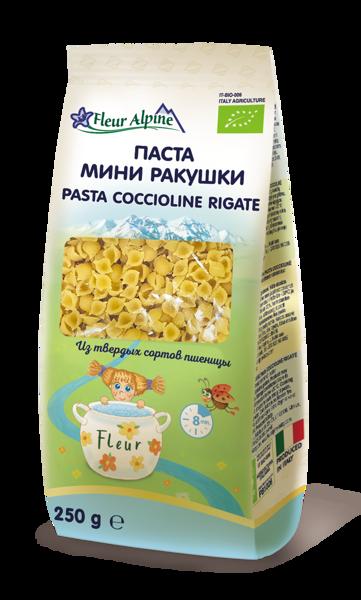 """FLEUR ALPINE makaronai """"Pasta Coccioline Rigate"""", 250 g paveikslėlis"""