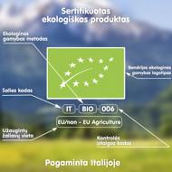 """FLEUR ALPINE  ekologiški makaronai """"Ditali"""" be gliuteno, iš ryžių miltų, 250 g paveikslėlis"""