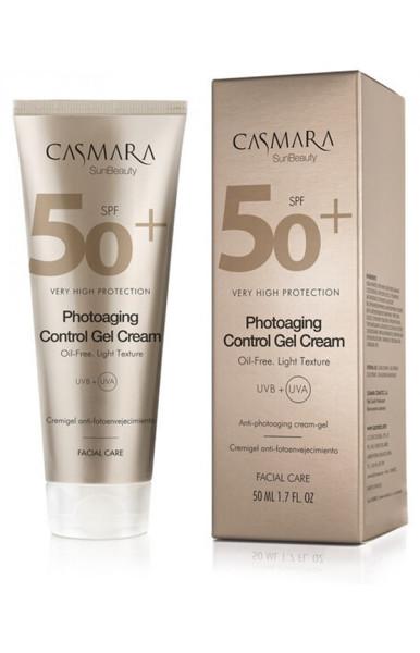 Casmara Photoaging Control Gel Cream SPF 50 – gelinis veido kremas 50ml paveikslėlis