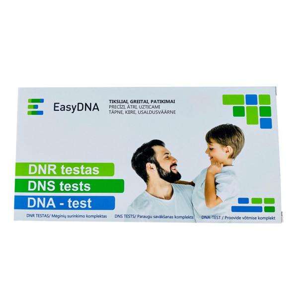 DNR tėvystės nustatymo testas/mėginių surinkimo komplektas  paveikslėlis