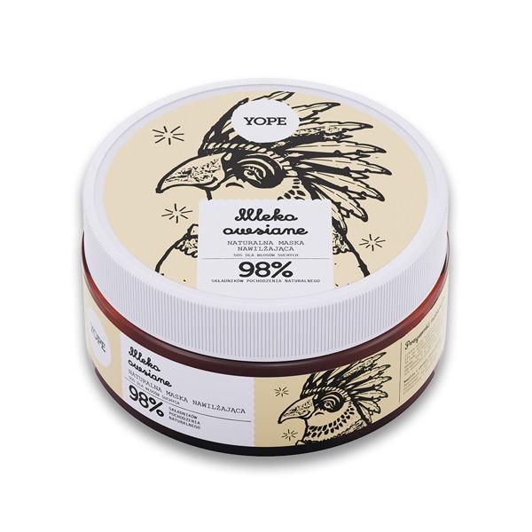YOPE Plaukų kaukė sausiems plaukams su avižų pienu, 300ml. paveikslėlis