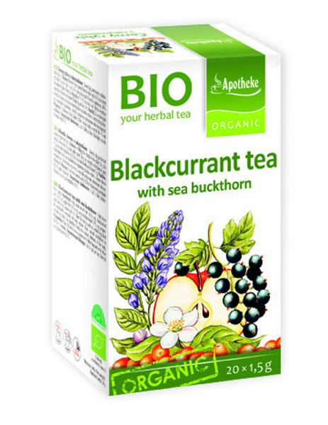 """APOTHEKE BIO""""Aktyvi diena"""" vaisinė arbata su juodaisiais serbentais ir šaltalankiu, 1,5g N20 paveikslėlis"""