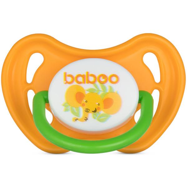 Baboo silikoninis simetrinis čiulptukas, 0+ mėn, Safari paveikslėlis