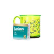 Baboo puodelis neslystančiu dugnu, 170ml, 12+ mėn, Safari paveikslėlis