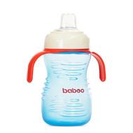Baboo gertuvė su silikoniniu snapeliu, 260ml, 6+ mėn, mėlyna paveikslėlis