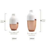 HEORSHE ULTRA WIDE NECK BUTELIUKAS, 160 ml., 0-3 mėn., BALTAS paveikslėlis